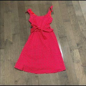 Vintage 1950'5 polka dot dress